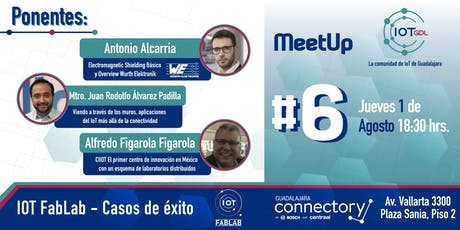 6to Meetup de la comunidad IoT GDL  boletos