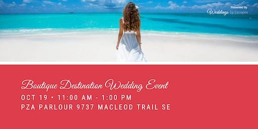 Boutique Destination Wedding Event