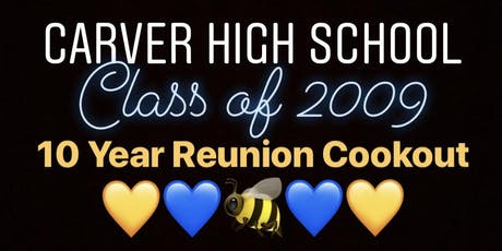 CHS CLASS OF 2009 10 YEAR REUNION  tickets