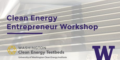 Clean Energy Entrepreneur Workshop tickets