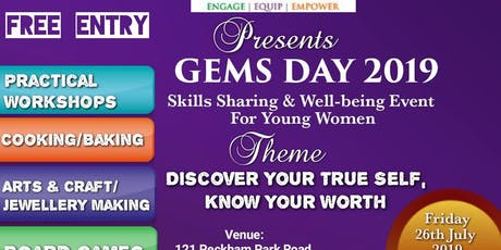 Gems day for young women tickets