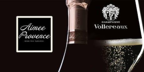 Champagne Vollereaux Masterclass/High Tea tickets