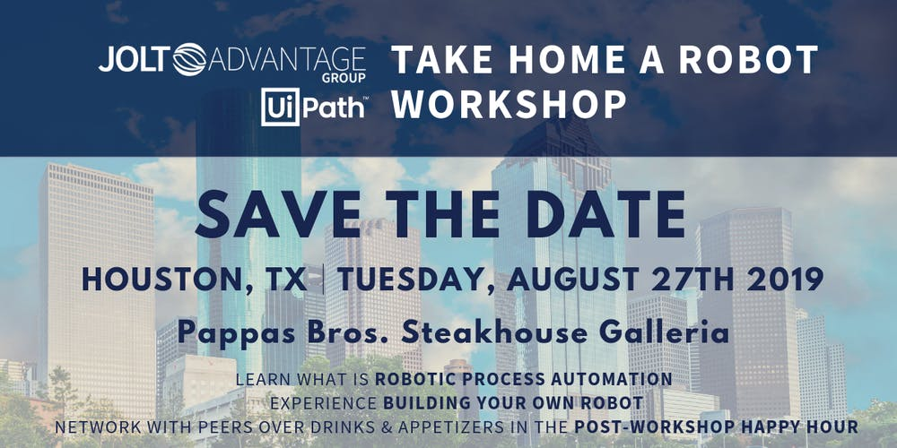 Take Home a Robot - Free RPA workshop Tickets, Tue, Aug 27, 2019 at