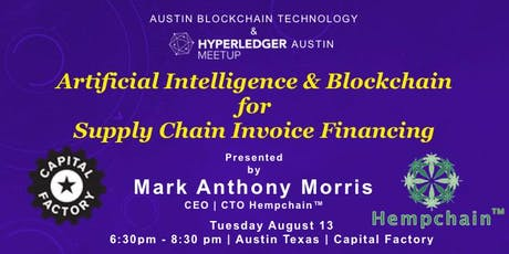 Artificial Intelligence & Blockchain for Supply Chain Invoice Financing Tickets
