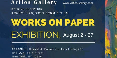 """Works on Paper"". Contemporary Art Exhibition, 2019 tickets"