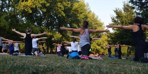 Outdoor Yoga - Slades Park