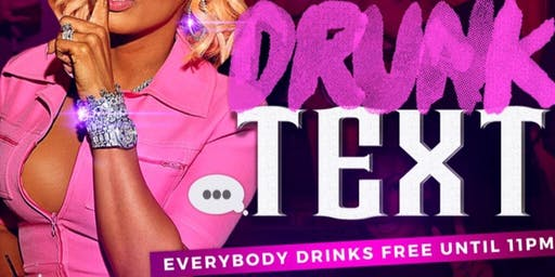 #DrunkText Free Drinks x Allure Saturdays