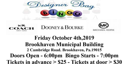 AOH SONS OF IRELAND DIVISION 17 DESIGNER BAG BINGO