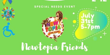 Newtopia Friends tickets