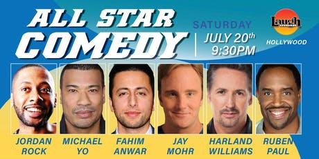 Jay Mohr, Harland Williams, and more - Special Event: All-Star Comedy tickets
