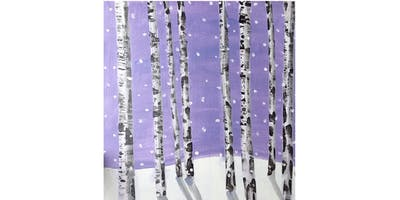 PNW Winter Birch Trees Paint & Sip Night - Art Painting, Drink & Food