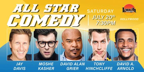David Alan Grier,  Tony Hinchcliffe, and more - All-Star Comedy! tickets