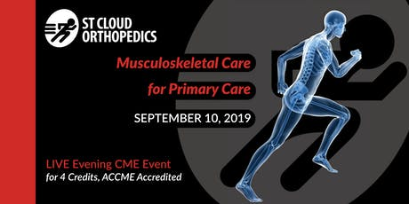 Musculoskeletal Care for Primary Care tickets