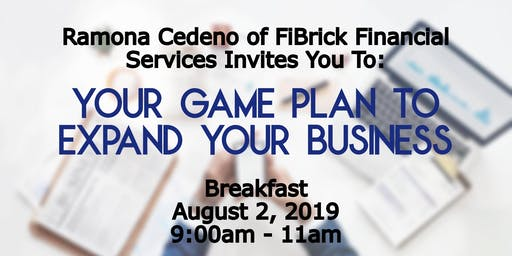 Breakfast: Your Game Plan To Expand Your Business