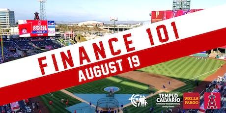 Finance 101 at Angel Stadium-BOY Program tickets