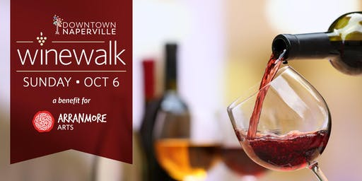2019 Downtown Naperville Fall Wine Walk