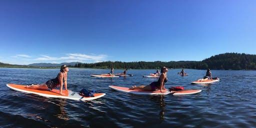 Paddleboard Yoga with AMY BRUZA & SUP SPOKANE