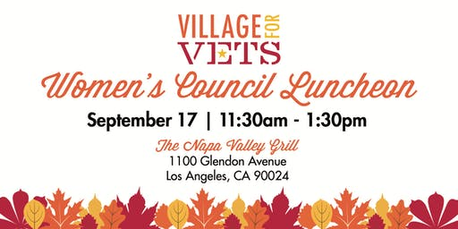 Village for Vets Women's Council Luncheon