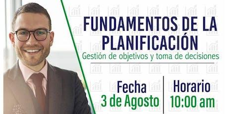 FUNDAMENTOS DE LA PLANIFICACIÓN,GESTIÓN DE OBJETIVOS Y TOMA DE DECICIONES entradas