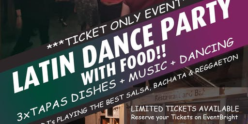 Latin Dance Party with Tapas | Salsa | Bachata | Reggaeton