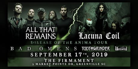 All That Remains w/ Lacuna Coil & Bad Omens + More | 9.17.19 tickets