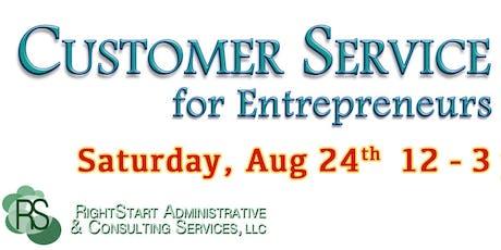 Customer Service 101 for Entrepreneurs tickets