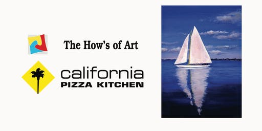Fun Painting Night at California Pizza Kitchen. FOOD & WINE INCLUDED!