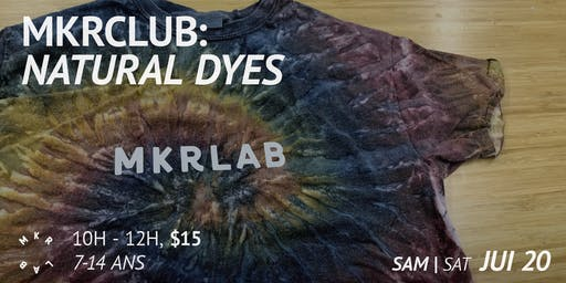 MKRCLUB: Natural Dyes