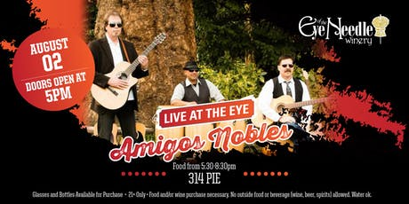 LIVE at the Eye:  Amigos Nobles tickets