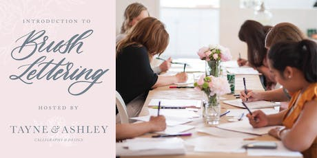 Introduction to Calligraphy | Brush Lettering tickets