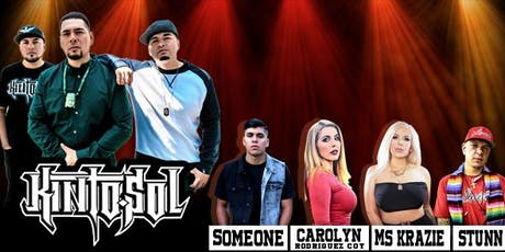 Kinto Sol -Ms. Krazie - Someone SM1 - Carolyn Rodriguez - Stunn concert! tickets