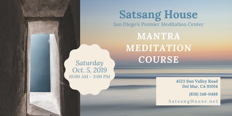 Personalized Mantra Meditation Course tickets