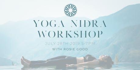 Yoga Nidra Workshop with Rosie Good tickets