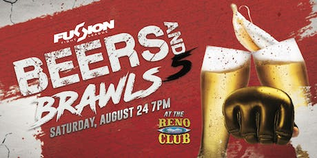 Fusion Fight League presents: Beers & Brawls 5 tickets