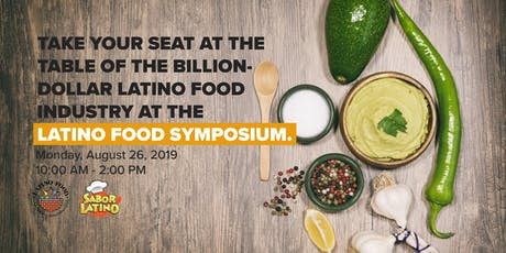 Sabor Latino Food Symposium 2019 tickets