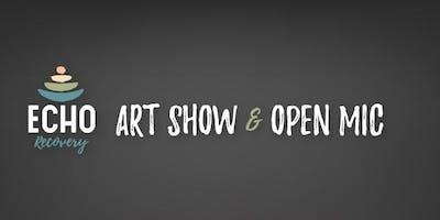 ECHO Art Show and Open Mic Night