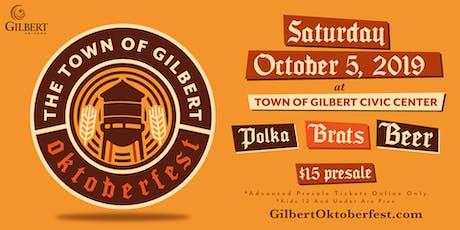 2019 Town of Gilbert Oktoberfest tickets