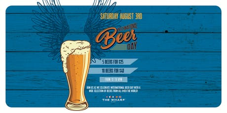 International Beer Day Celebration tickets