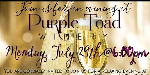 Purple Toad Winery R+F Event