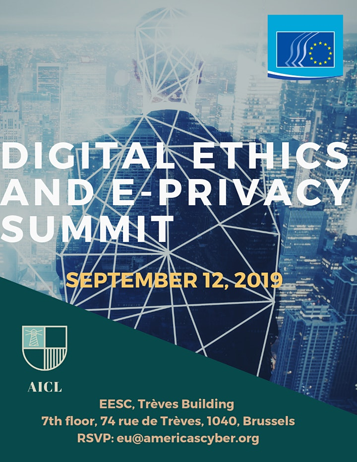 Digital Ethics and e-Privacy Summit image