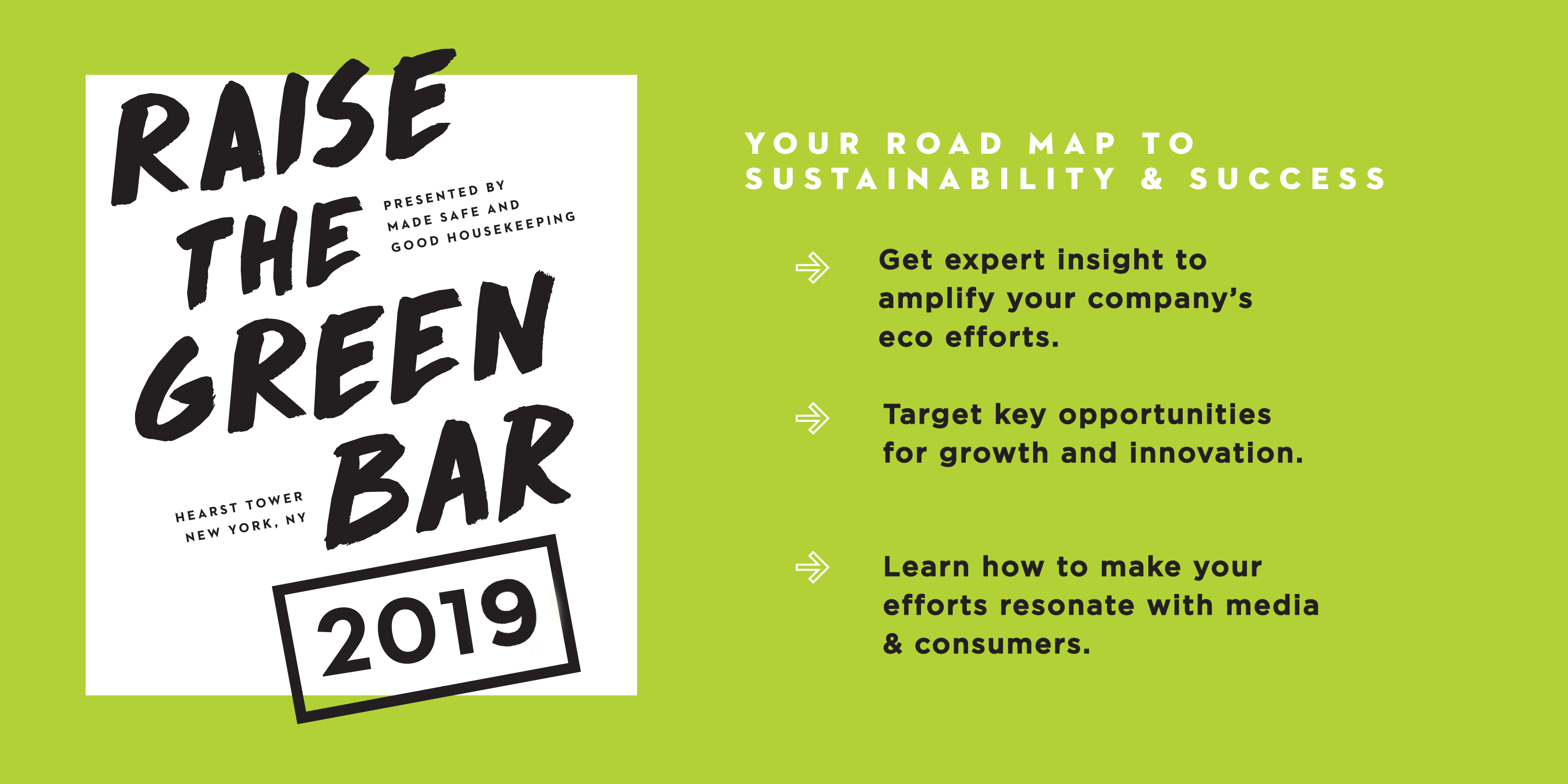 Raise the Green Bar 2019 Your Roadmap to Sustainability & Success