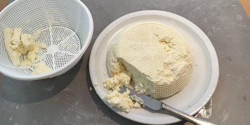 Home cheesemaking - butter, crème fraiche, buttermilk ricotta & ghee