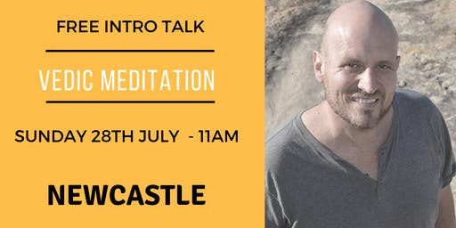 Free Intro Talk on Vedic Meditation with Geoff Rupp - JULY