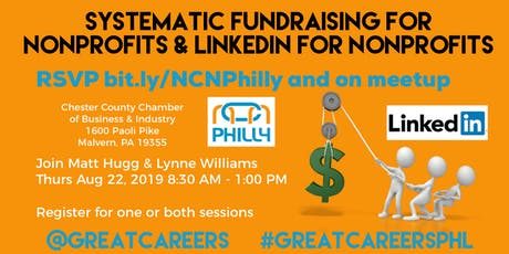Systematic Fundraising for Nonprofits & LinkedIn for Nonprofits tickets