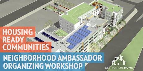 Neighborhood Ambassador Organizing Workshop tickets