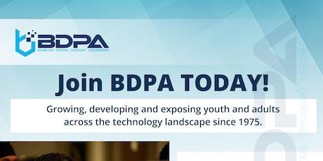 2019 FALL BDPA Meeting - SPONSORSHIP PORTAL tickets
