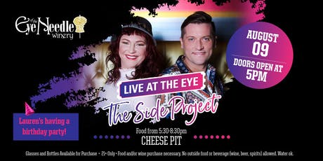 LIVE at the Eye:   The Side Project & Lauren's Birthday Party tickets
