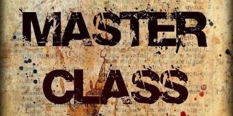 DM   GM Master Class July 28th 2019 tickets