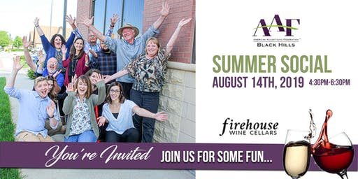 AAF Black Hills Summer Social - Save The Date