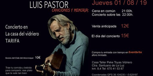 Luis Pastor en Tarifa